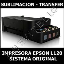 Impresora Epson L120 Sistema Original, Sublimacion, Transfer