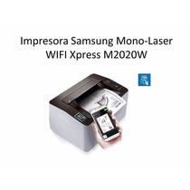 Impresora Laser Negro Samsung M2020w Nueva Wifi 21ppm Nfc