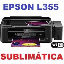 Impresora Multifuncional Epson L355 Para Sublimacion Nueva
