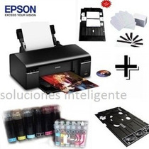 Kit Epson T50 Bandeja,50 Pvc,5htrasfer,globos,tintas+20hfoto
