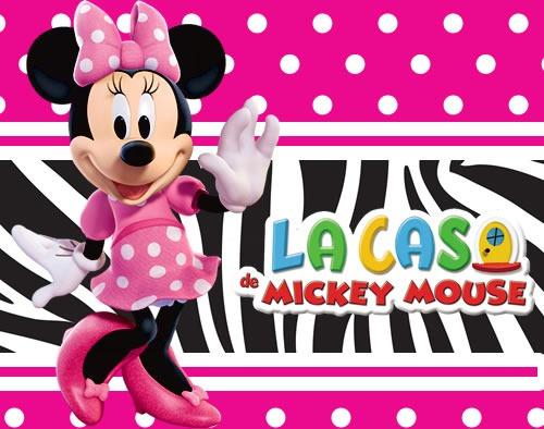 Minnie Mouse rosa fondos - Imagui