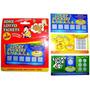 Fake Lottery Ticket - 3x Scratch Card Lotto Santa Secreto