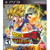 Dragon Ball Z Ultimate Tenkaichi Playstation 3 Nuevo