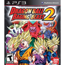 Dragon Ball Z Raging 2 Ps3 Playstation 3 Nuevo Original Jxr