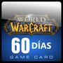 World Of Warcraft Tarjeta Prepago De 60 Dias (us / Eu) Nueva