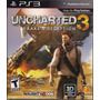 Nuevo! Uncharted 3 Ps3 Sony
