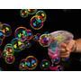 Pistola De Luces Neon Y Burbujas, Disfruta La Navidad