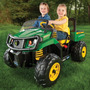Tractor De Bateria John Deere Gator Xuv - Importados