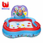 Piscina Inflable Centro De Juegos Bestway Club House