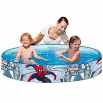 Piscinas Inflables Juguetes Bestway Spider Man Agua Pelotas