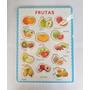 Encajable Frutas Didactico De Madera Ref: Mck7275