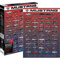 Rompecabezas Ford Mustang Evolution