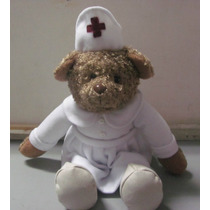 Muñecos Peluche Oso Disfraz Enfermera