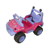 Jeep Grande 2 Princesas Montable Control Remo Niños 2-8 Años