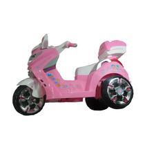 Moto Bws De Lujo Electrica Para Niñas 2-6 Años, Mp3,llave
