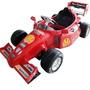 Carro Niños Recargable Formula 1, Con 2 Motores Y 2 Baterias
