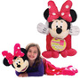 Disney Cobijas Y Titeres Mickey Minnie Sulley Winnie Nuevas