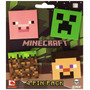 Minecraft Set De 4 Pines Para Ropa O Maletines