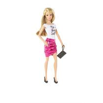 Barbie Fashionistas Falda Fucsia Y Be Yourself De Mattel