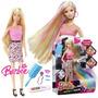 Remate!! Barbie Peinados Multicolor - Mattel ( Hstyle)