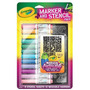 Crayola Marker And Stencil Pack Para Niña, Entrega Inmediata