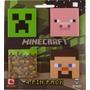 Minecraft Paquete De 4 Pines Para Ropa O Mochilas