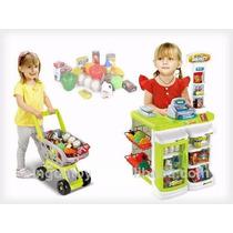 Supermercado Con Carro Para Niños My Shopping Time Ref: 3352