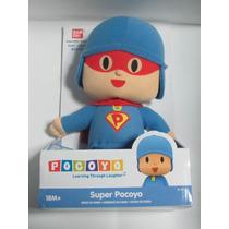 Muñeco Pocoyó Serie Superpocoyo Original Bandai Envio Gratis