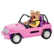 Barbie Jeep De Playa De Mattel