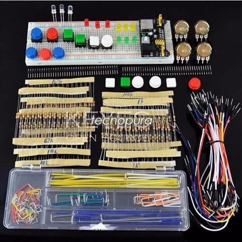 Kit de electrónica principiantes arduino pic