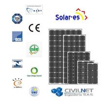Panel Solar Monocriscristalino 200w Calidad Certificada