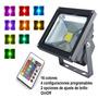 Reflector Led Rgb Multicolor 50w Con Control Remoto Exelente