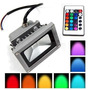 Reflector Led 10 Watts Multicolor Con Control Remoto