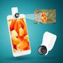 Celular Del Teléfono Móvil 20x Lente Micro Microscopio Par