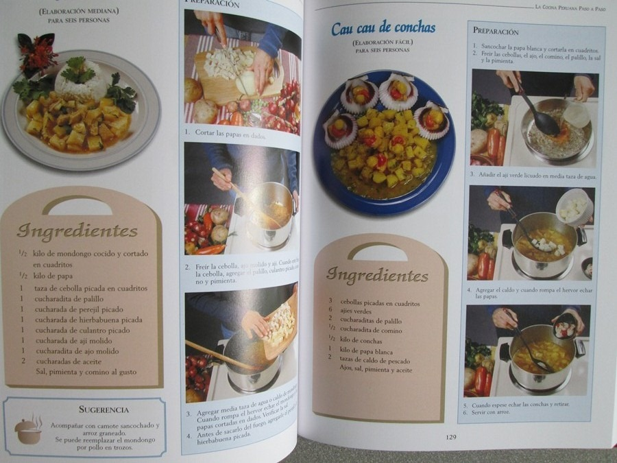 La cocina peruana paso a paso m s de 250 recetas for Cocina paso a paso pdf