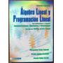 Álgebra Lineal Y Programación Lineal - Ecoe