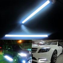 2 Luces Led En Barra, Impermeables 14cm, Carro O Moto
