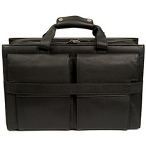 Maletín Dr. Koffer Xander 17 \laptop Bag País Lux Negro