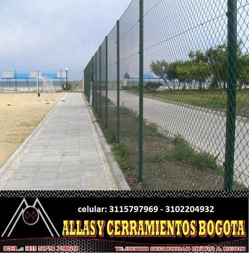 Malla Eslabonada - Cerramientos - Bogota