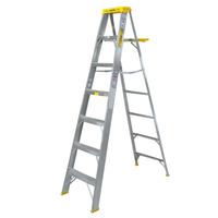 Escalera 7 Pasos Plegable Hogar Industria Y Mas