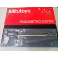 Calibrador Mitutoyo, Digital Original 100% 200 Mm Absolute!!