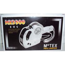 Máquina Tiqueteadora Marcar Precios Motex 5500