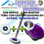 Trapero Giratorio Spin And Go Pro Mop Evolution Con 2 Mopas