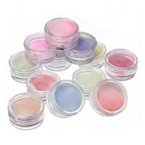¡ Kit De 12 Glitter Decoración De Uñas Escarcha Cosmética !!