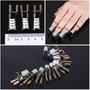 1 Set5 Pc Nails Metal Gel De Extensión De Apoyo Formas Nail