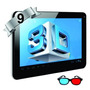 Tablet Silver Max Doble Sim 3g Gafas 3d Bluethoot 9 4 Nucle