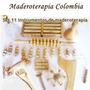 Kit Maderoterapia 11 Instrumentos Super Ganga