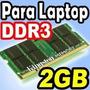 Memoria Para Portatil Ddr 3 2gb Usada