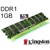 Memoria Ddr1 1gb Pc3200 400mhz 184pines Blister- Kingston