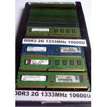 Memoria Ram Ddr3 De 2gb Para Pc - Cali - Garantizadas